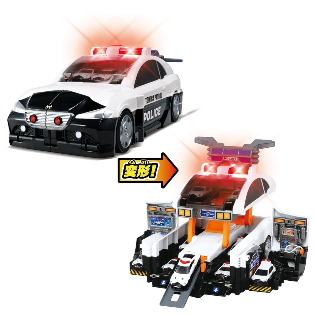 变形警察巡逻车